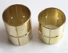 Пример использования втулки бронзовой, вкладышей из сплавов БрО5Ц5С5, БрА9Ж4 и БрОФ